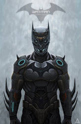 Batman: Batsuit by Rodrigo-Sanches-A