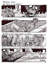 Zombie outcast by AlenDemon