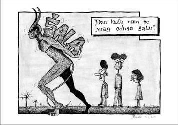 Devil took the joke by AlenDemon