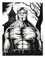 Hellboy by AlenDemon