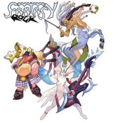 Fantasy rock by nunchaku