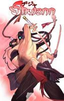 Commission:  Shwann and GohGoh by nunchaku
