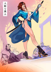 Bijin Assassin by nunchaku