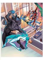 Mutants and Masterminds by nunchaku
