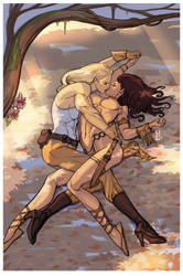 Not just a kiss by nunchaku