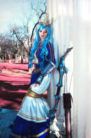 Queen Ashe - League of Legends by ValentinaKryp