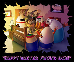 Happy Easter Fool's Day! by kjsteroids