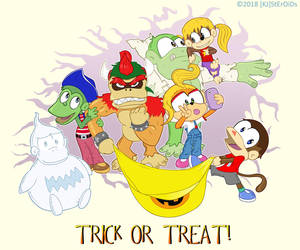 Halloween Kongsplay by kjsteroids
