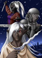 Three Blades by slyeagle