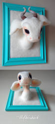 Needle felt Spirit Fantasy Creature by Mothershark