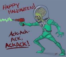 Mars Attacks: Ack, ACK-ACK by Red-Phantom