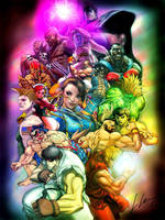 Super Street Fighter 2 by Joker-laugh