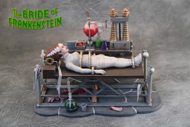The Bride of Frankenstein by Joker-laugh