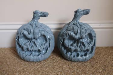 In Progress, Halloween pumpkins by Joker-laugh