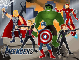 Avengers Assemble by CPD-91