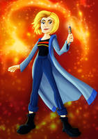 13th Doctor by CPD-91