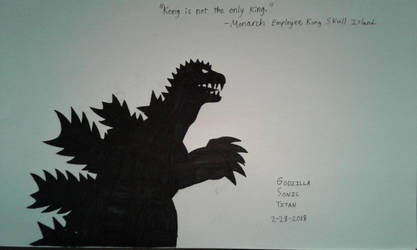 Kong is Not the Only King by GodzillaSonicTitan