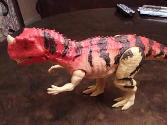 Ceratosaurus Joins in the Hunt by GodzillaSonicTitan