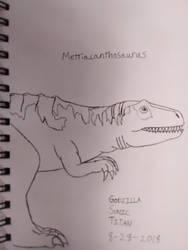 Metriacanthosaurus by GodzillaSonicTitan