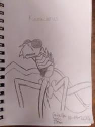 Kamacurus by GodzillaSonicTitan