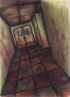 SH : hospital hallway by SaltyIrishDog