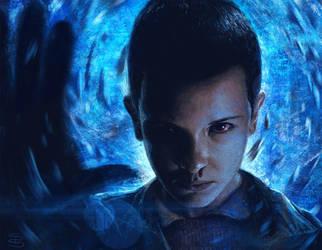 Eleven from Stranger Things by slshimerdla