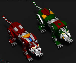 Red Green Lion New Versions by svidal