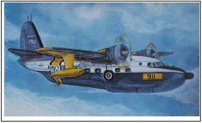 Grumman 'Albatross' by zekesgraphics