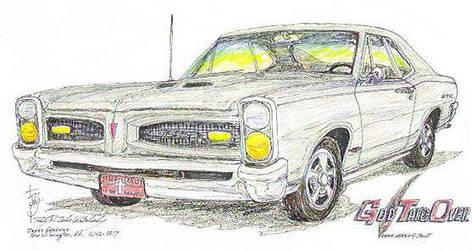 1966 Pontiac GTO by zekesgraphics