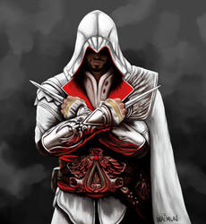 Ezio Auditore da Firenze Brotherhood by ShockyTheGreat
