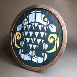 Breath of the Wild: Fisherman's Shield by DoubleZeroFX