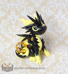 Lightning Dice Dragon by BlackCatSamurai