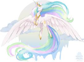 Her Majesty: Celestia by MochaShortcake