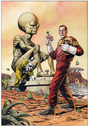 Dan Dare Commission 2 by westonfront