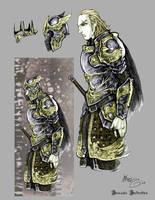 Warrior Concept by thedarkestseason