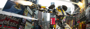 Battle in Times Square by reinohvp