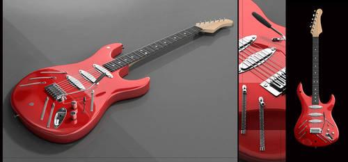 Beat It Guitar by reinohvp