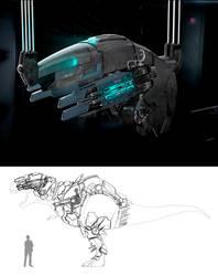 Dino Progress by reinohvp