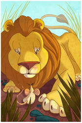 The Lion and the Mouse by Lexie-Holliday