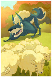 The Wolf in Sheep's Clothing by Lexie-Holliday
