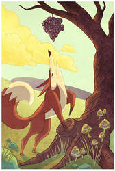 The Fox and the Grapes by Lexie-Holliday