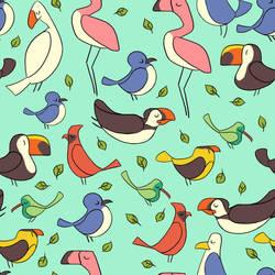 Bird Pattern by Lexie-Holliday