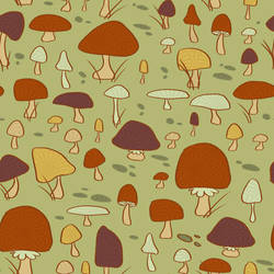 Mushroom Pattern by Lexie-Holliday