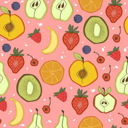 fruit pattern by Lexie-Holliday