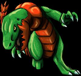 Lizaur by FishBatDragonThing