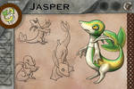 Jasper by FishBatDragonThing
