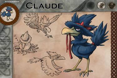 Claude by FishBatDragonThing