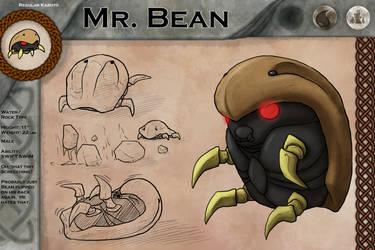 Mr. Bean by FishBatDragonThing