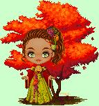 Autumn goddess by Mya-Ow