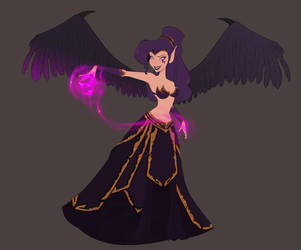 Megara, Fallen Angel by Dreemers